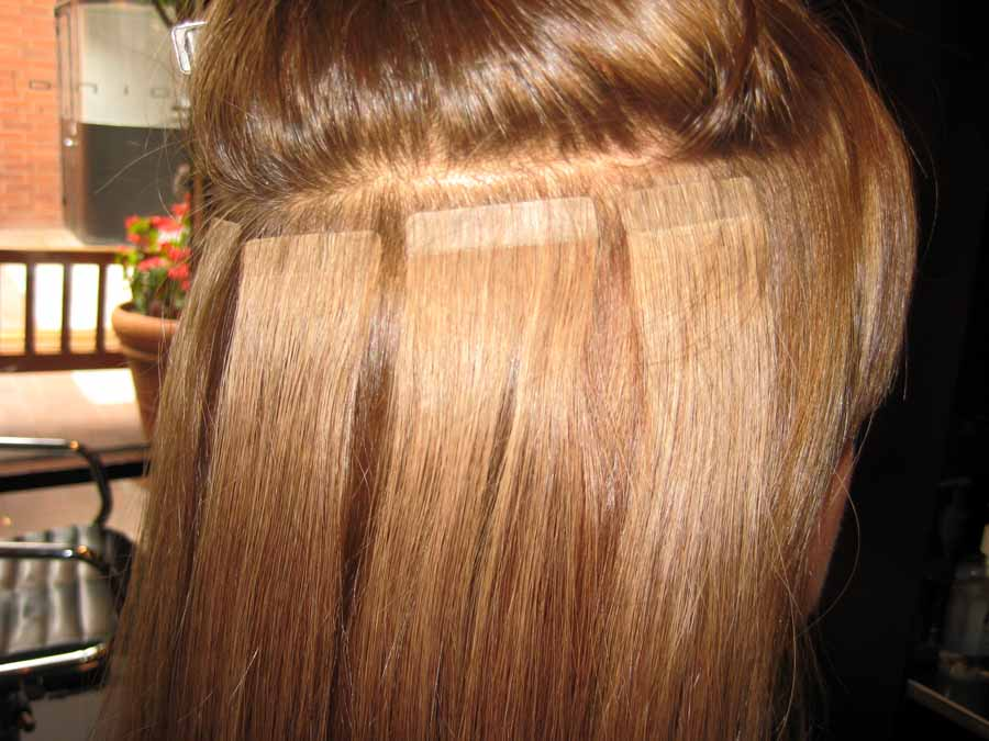 Tape Weft Hair Extensions Christine Rinehart