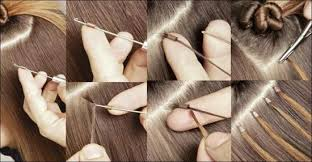 Micro link hair extensions benefit analysis christine rinehart this method uses prebonded extension hair and attaches it to the existing hair using a small metal bead that is crimped closed pmusecretfo Images